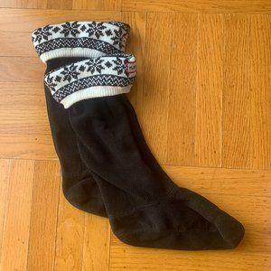 Hunter Fair Isle Print Boot Socks